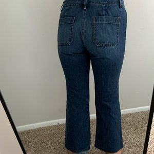LOFT Jeans - Cropped Flair Denim